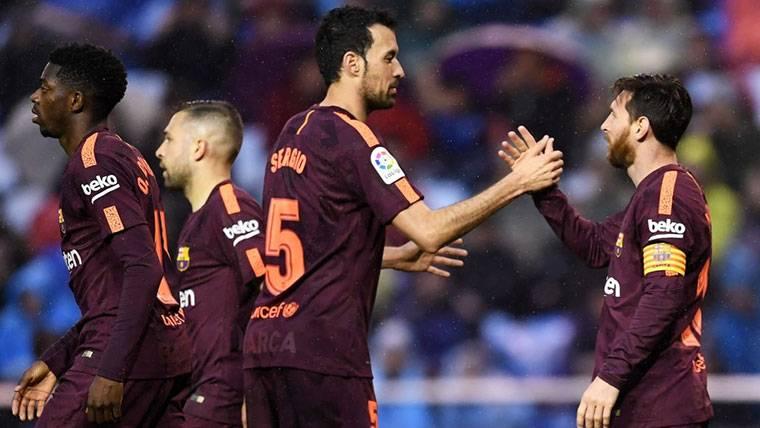 ¡Hat-trick poético de Messi para ganar LaLiga y superar a Salah!