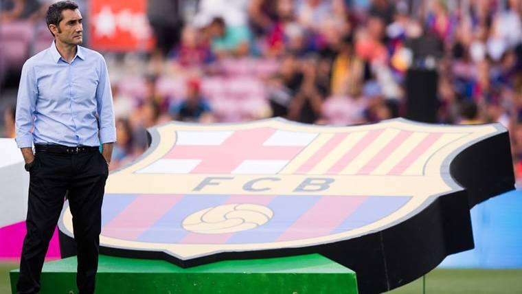 Valverde triunfa: sexto técnico en hacer 'doblete' con el Barça