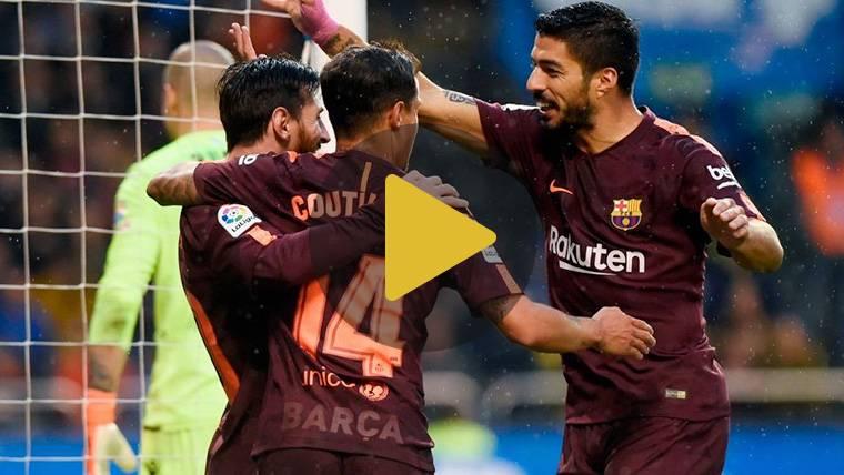 Vídeo resumen: Deportivo 2 FC Barcelona 4 (LaLiga J35)