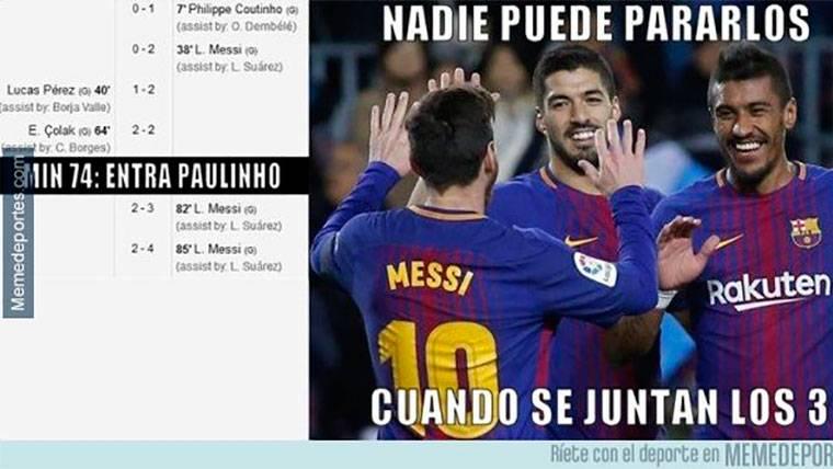 Estos son los mejores 'memes' del Deportivo-FC Barcelona