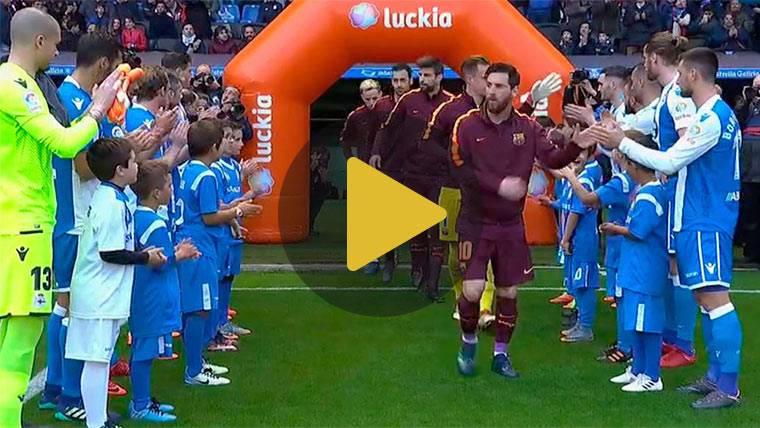 El Deportivo hace honor a su nombre: pasillo al Barça por la Copa