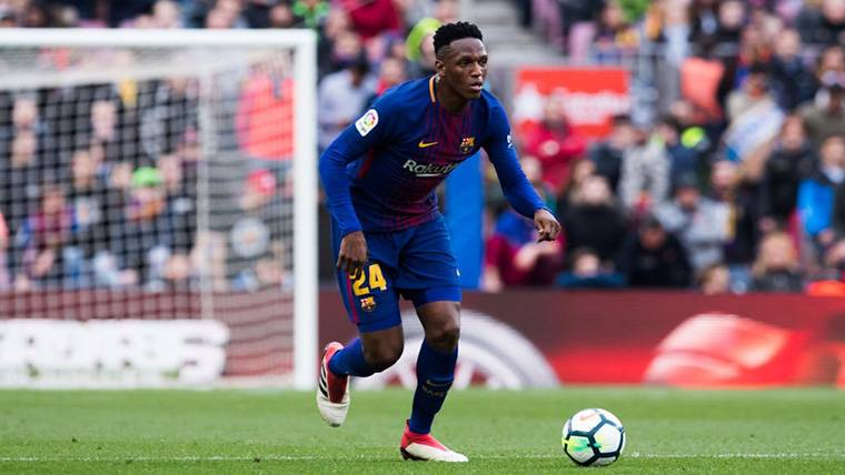 Yerry Mina Makes History With The Doublet League Glass Of The Barcelona