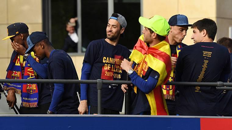 El Real Madrid felicita al FC Barcelona por el doblete de Liga y Copa