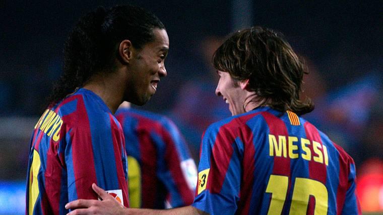 13 años del día en que Messi y Ronaldinho hicieron enloquecer al Camp Nou
