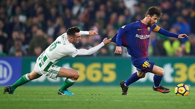 El Betis habla sobre el supuesto interés del Barça en Fabián