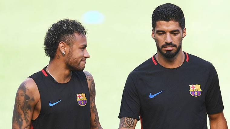 Nuevo mensaje de Luis Suárez sobre Neymar por su marcha