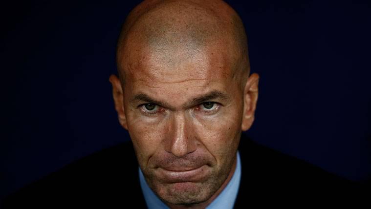 Las dudas de Zinedine Zidane en su alineación titular para el Clásico