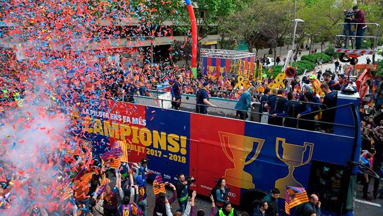 El FC Barcelona, rey de los 'dobletes' durante la última década en Europa