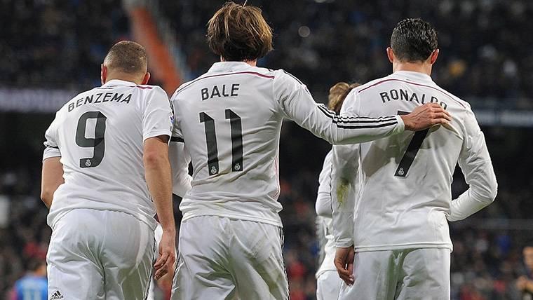 El último Clásico de la 'BBC' del Real Madrid contra el Barça