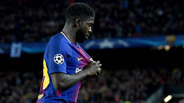 El Barcelona quiere renovar a Umtiti, pero con una condición