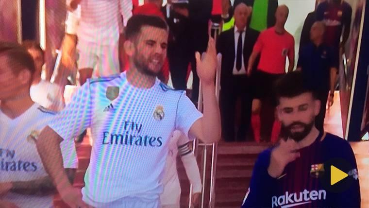 Tensa disputa en el túnel de vestuarios entre Piqué, Nacho y Sergio Ramos
