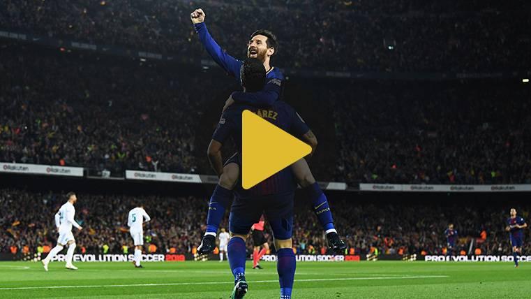 La divertida justificación de Luis Suárez de su falta en el gol de Leo Messi