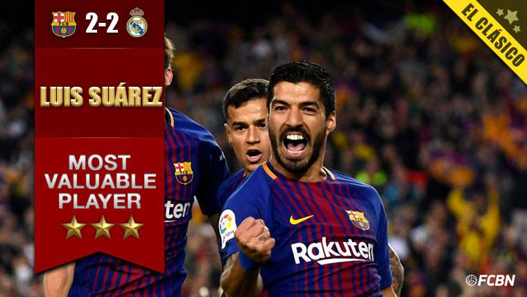 Luis Suárez volvió a golpear al Real Madrid con gol y asistencia