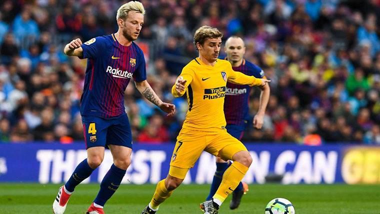 ¡El Barça reconoce una reunión con el agente de Griezmann!