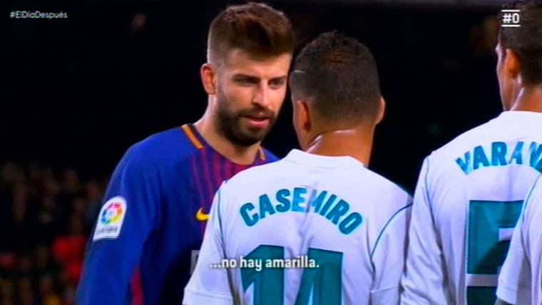 Sale a la luz lo que Piqué dijo a Nacho y a Casemiro en el Clásico