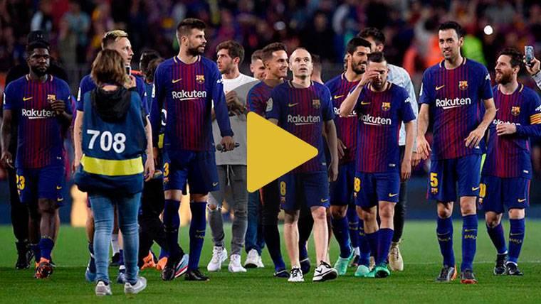 La fiesta del Barça para homenajear a Iniesta y celebrar el doblete ya tiene fecha y hora