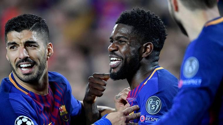 Samuel Umtiti sigue sin renovar y el Barça mantiene la propuesta
