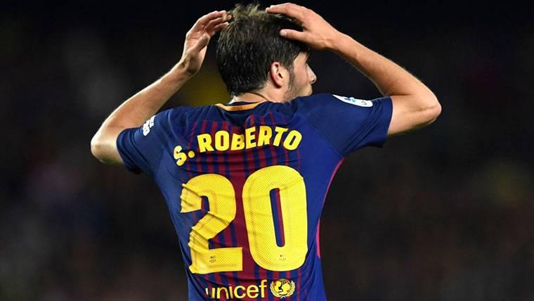 El Barça presentará un recurso a la sanción de Sergi Roberto