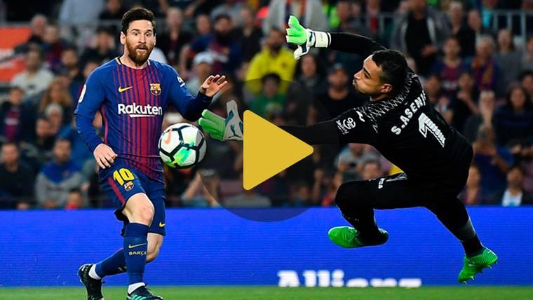 Vídeo resumen: FC Barcelona 5 Villarreal 1 (LaLiga J34)