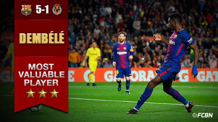 Dembélé explota en el Camp Nou con su mejor partido en el Barça