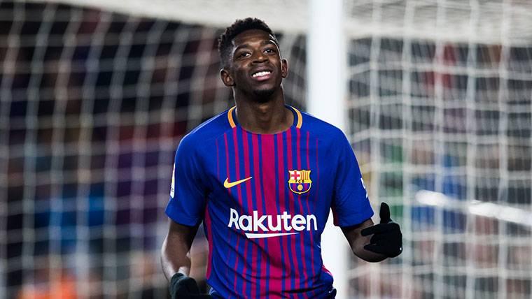 Sepa a qué velocidad llegó Dembélé en la jugada del gol de Coutinho