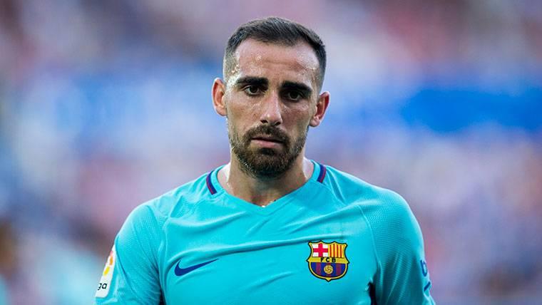 La prueba de que Paco Alcácer abandonaría el Barça en junio