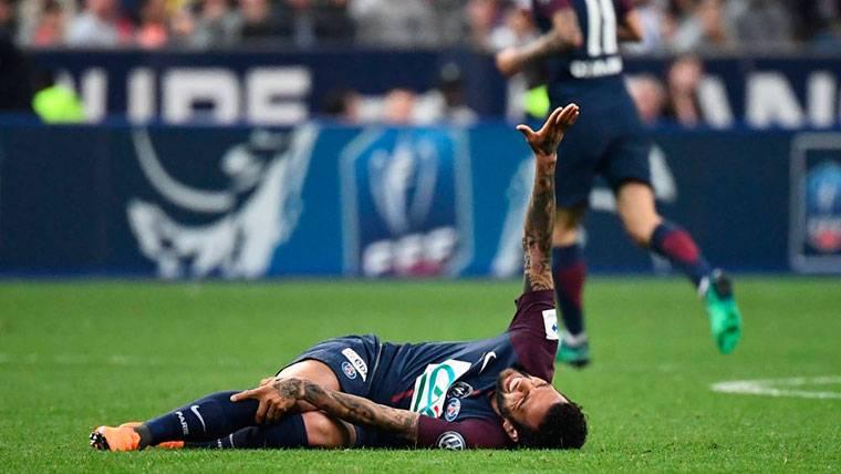 Dani Alves cae lesionado y se perderá el Mundial de Rusia