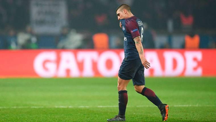 """Verratti se pronuncia sobre su futuro: """"He hablado con el PSG"""""""