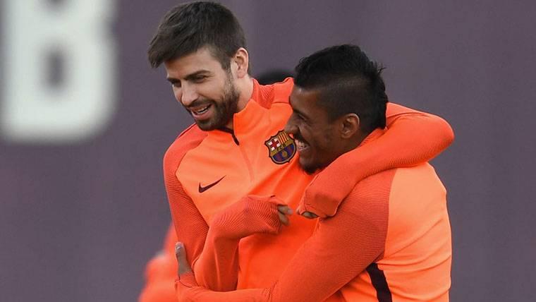 La titularidad de Gerard Piqué contra el Levante, en riesgo