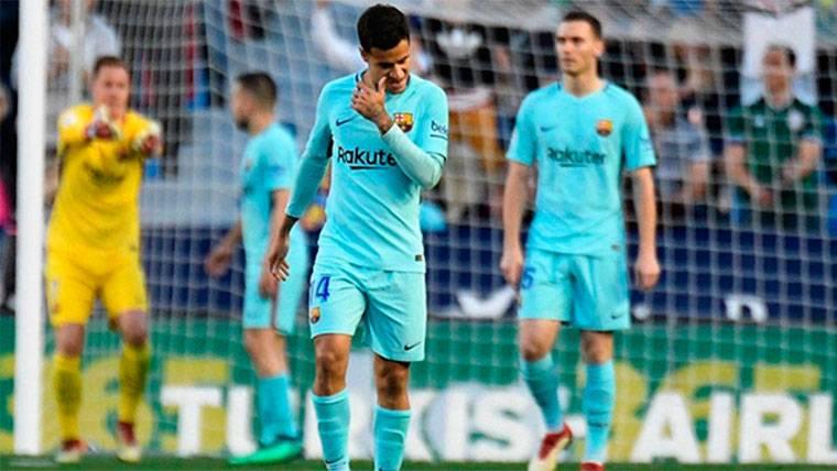 Boateng marcó el segundo del Levante y complicó el invicto del Barça