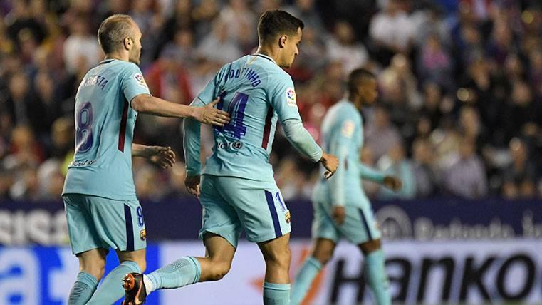 El liderazgo de Philippe Coutinho, la mejor noticia para el Barça