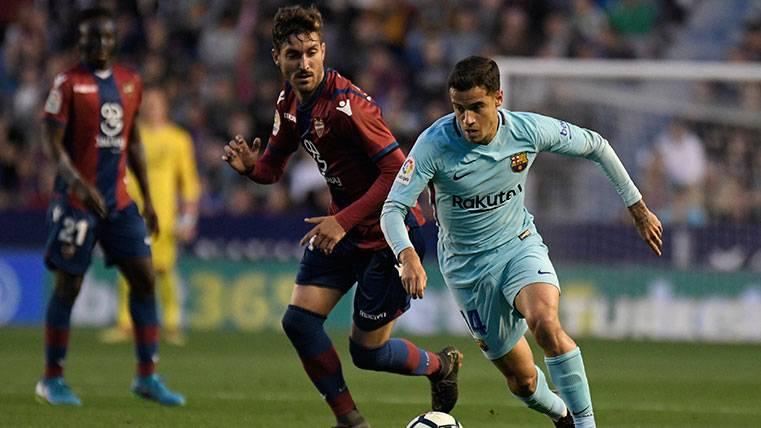 Mensaje motivador de Coutinho tras un mal partido del Barça