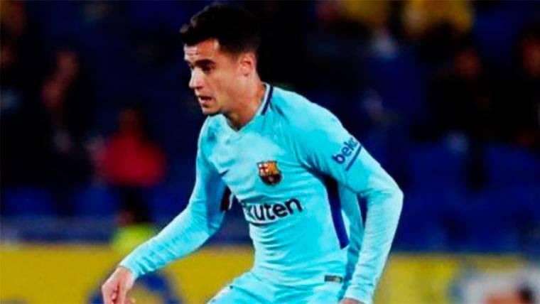 El 'francotirador' Coutinho recortó diferencias con su quinto gol en Liga