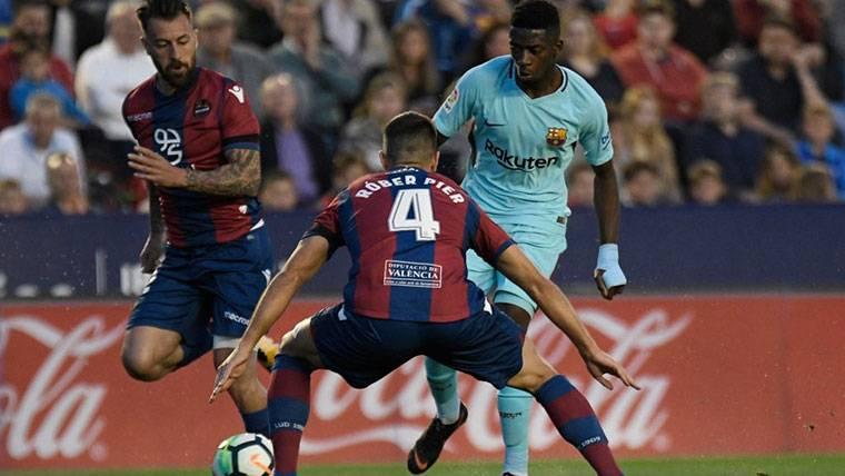 Dembélé, visto y no visto tras ilusionar a la afición del Barça