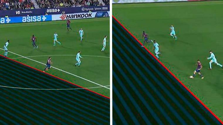 ALERTA: ¡El 4-1 del Levante llegó tras un doble fuera de juego!