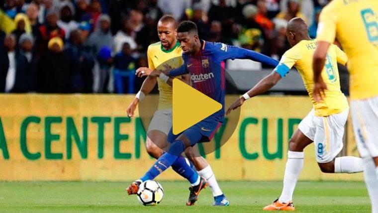 Vídeo resumen: Mamelodi Sundowns 1 FC Barcelona 3