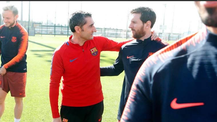 Ernesto Valverde revela que Leo Messi volverá a descansar contra la Real Sociedad