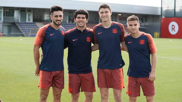 La solución para el problema de los centrales podría estar en el Barça B