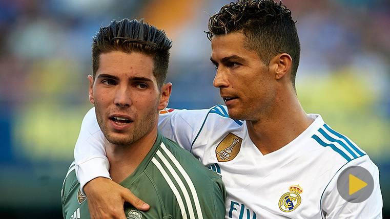 La titularidad de Luca Zidane desentierra una 'cantada' viral