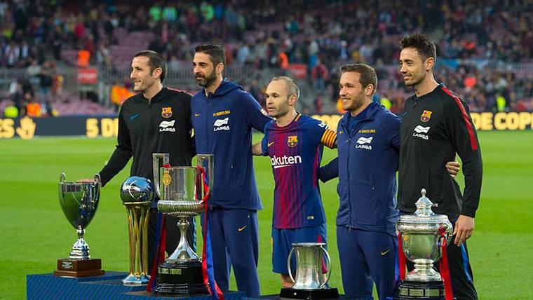 Así describen a Andrés Iniesta los grandes capitanes del Barça