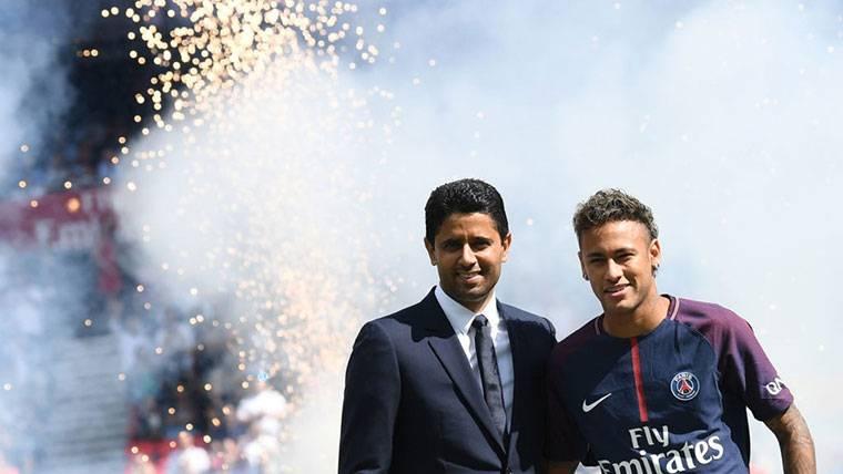 El presidente del PSG vuelve a pronunciarse sobre Neymar