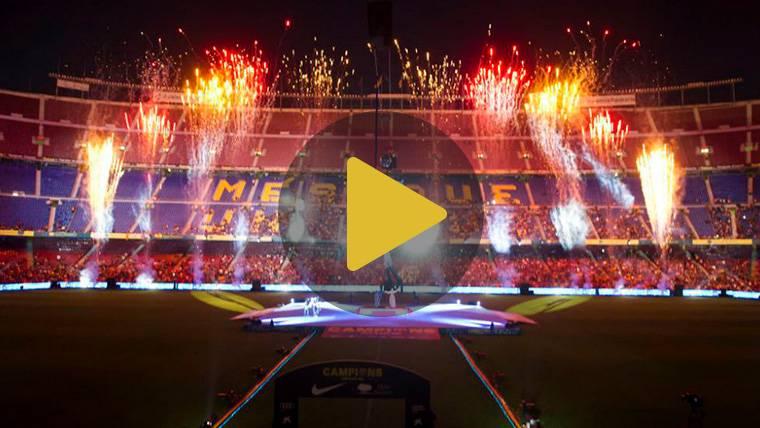 AL DETALLE: La gran fiesta del Barça y el último adiós de Iniesta