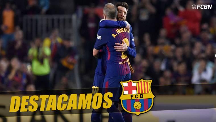 Messi superará los 674 partidos de Iniesta la próxima temporada