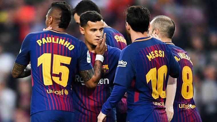 ¿Por qué Paulinho no estuvo presente en la fiesta del Barça?