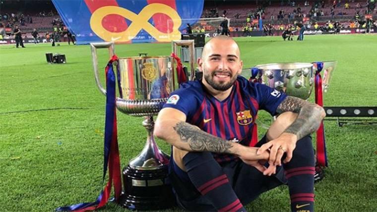 Aleix Vidal pone punto y final a la temporada... ¿Y al Barça?