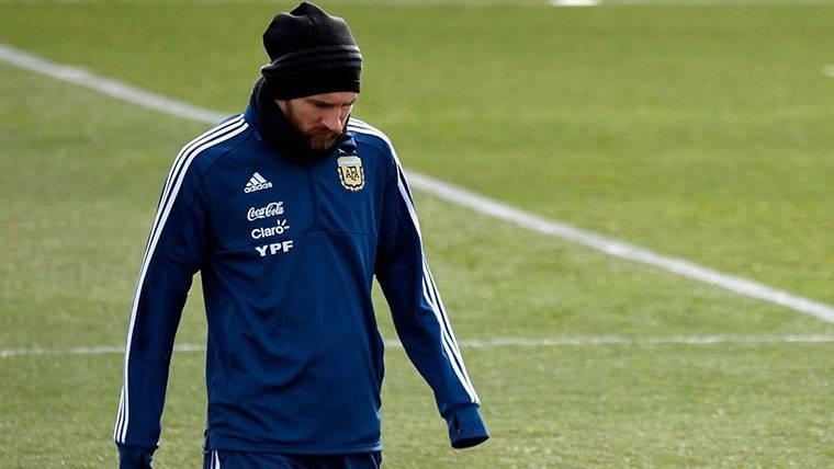 Messi empezará a entrenarse con Argentina desde este martes