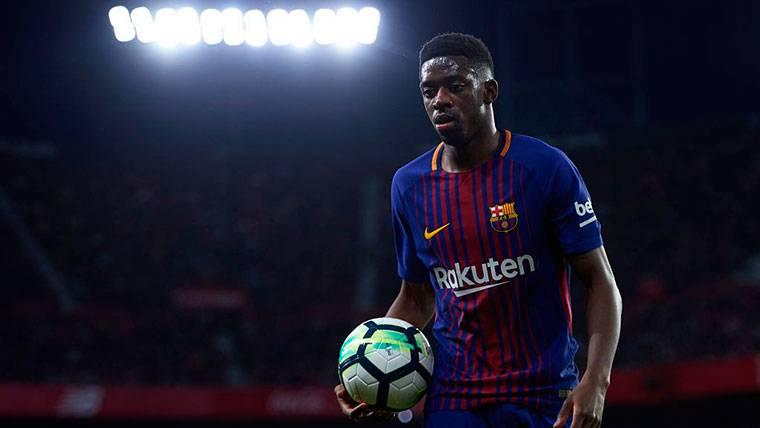 Si Griezmann no llega al Barça, Dembélé será el 'fichaje'