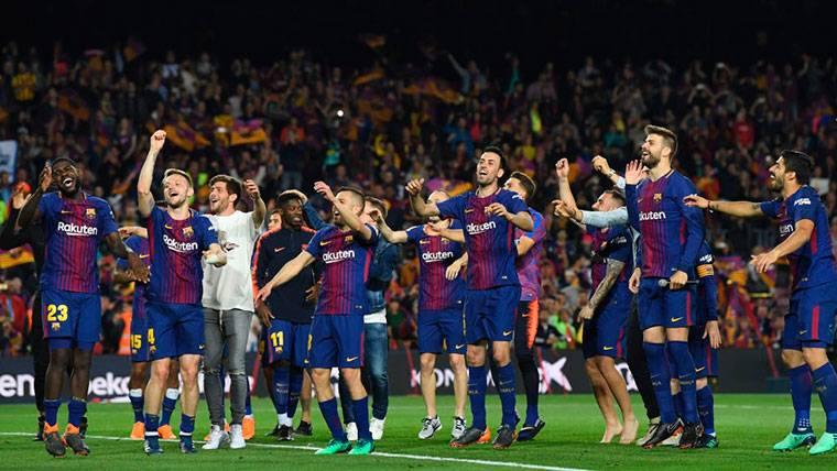 El golpe de autoridad que el Barça ha dado en esta Liga