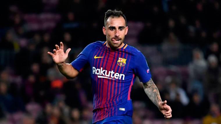 Paco Alcácer no entraría en los planes del FC Barcelona 2018-19