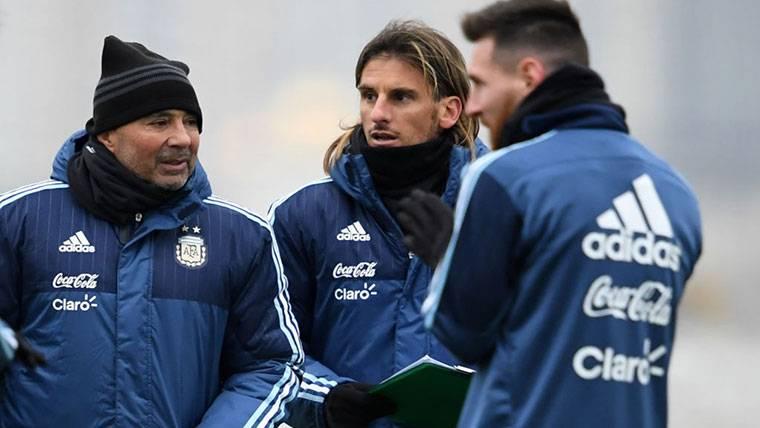 Sampaoli desvela el estado de forma de Messi para el Mundial